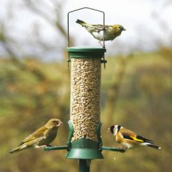 National Trust small plastic seed feeder
