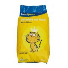 Best pets dry Cat food 10kg chicken flavour