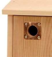 Copper Nest box protector plate