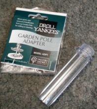 Droll Yankee garden pole adapter