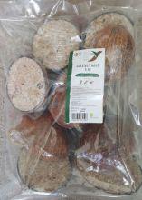 Half coconuts pack of Ten