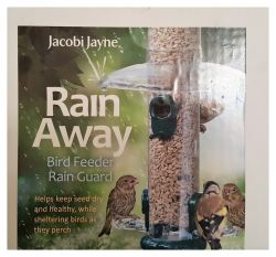 Rain Away, feeder rain guards