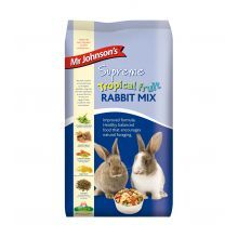 Mr Johnsons Tropical fruit Rabbit mix 15kg