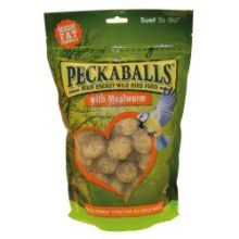 Suet to go Peckaballs in Mealworm flavour 1kg