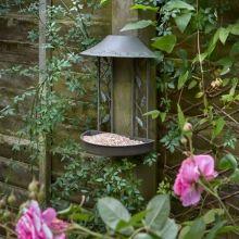 PECKISH WALL HANGING BIRD TABLE